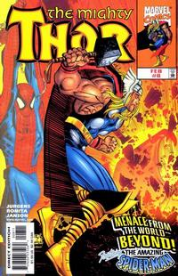 Cover Thumbnail for Thor (Marvel, 1998 series) #8