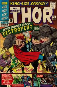 Cover Thumbnail for Thor Annual (Marvel, 1966 series) #2