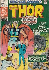 Cover Thumbnail for Thor Annual (Marvel, 1966 series) #3