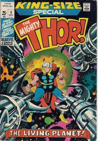 Cover Thumbnail for Thor Annual (Marvel, 1966 series) #4