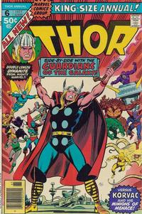 Cover Thumbnail for Thor Annual (Marvel, 1966 series) #6