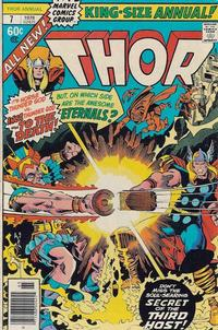 Cover Thumbnail for Thor Annual (Marvel, 1966 series) #7