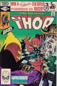 Cover Thumbnail for Thor Annual (Marvel, 1966 series) #9 [Direct]