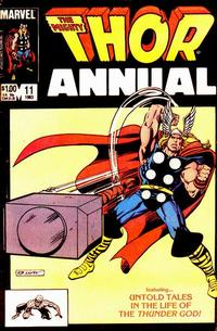 Cover Thumbnail for Thor Annual (Marvel, 1966 series) #11 [Direct]