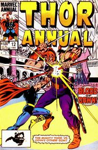 Cover Thumbnail for Thor Annual (Marvel, 1966 series) #12 [Direct]