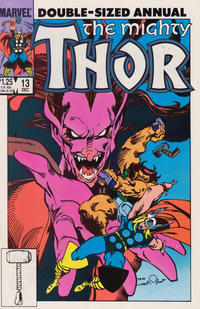 Cover Thumbnail for Thor Annual (Marvel, 1966 series) #13