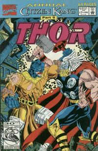 Cover Thumbnail for Thor Annual (Marvel, 1966 series) #17 [Direct Edition]