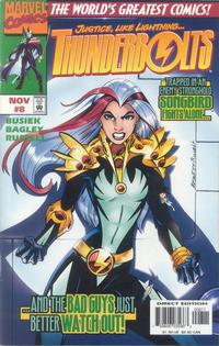 Cover Thumbnail for Thunderbolts (Marvel, 1997 series) #8