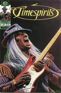Cover Thumbnail for Timespirits (Marvel, 1984 series) #5