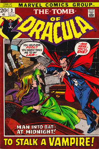 Cover Thumbnail for Tomb of Dracula (Marvel, 1972 series) #3