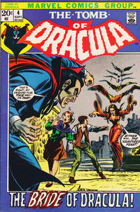 Cover Thumbnail for Tomb of Dracula (Marvel, 1972 series) #4