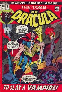 Cover Thumbnail for Tomb of Dracula (Marvel, 1972 series) #5