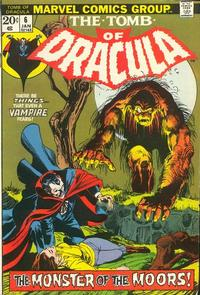 Cover Thumbnail for Tomb of Dracula (Marvel, 1972 series) #6