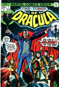 Cover Thumbnail for Tomb of Dracula (Marvel, 1972 series) #7 [Regular Edition]
