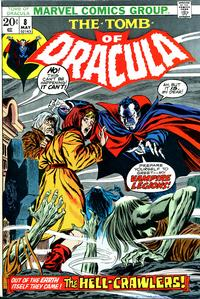 Cover Thumbnail for Tomb of Dracula (Marvel, 1972 series) #8 [Regular Edition]