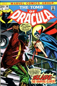 Cover Thumbnail for Tomb of Dracula (Marvel, 1972 series) #10