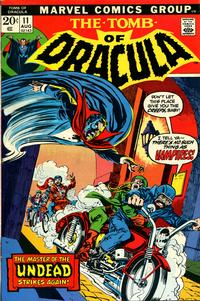 Cover Thumbnail for Tomb of Dracula (Marvel, 1972 series) #11
