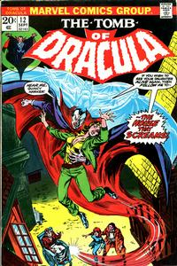 Cover Thumbnail for Tomb of Dracula (Marvel, 1972 series) #12 [Regular Edition]