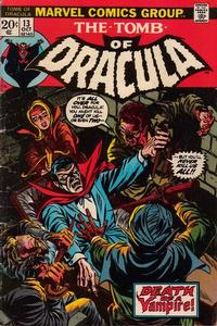 Cover Thumbnail for Tomb of Dracula (Marvel, 1972 series) #13 [Regular Edition]