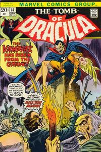 Cover Thumbnail for Tomb of Dracula (Marvel, 1972 series) #14 [Regular Edition]