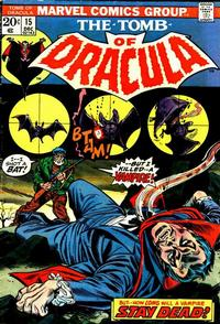 Cover Thumbnail for Tomb of Dracula (Marvel, 1972 series) #15