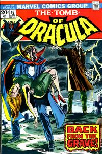 Cover Thumbnail for Tomb of Dracula (Marvel, 1972 series) #16 [Regular Edition]