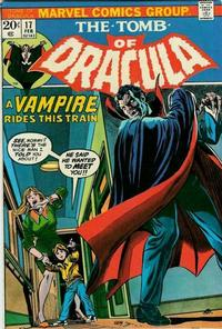 Cover Thumbnail for Tomb of Dracula (Marvel, 1972 series) #17