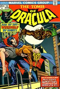 Cover Thumbnail for Tomb of Dracula (Marvel, 1972 series) #18 [Regular Edition]