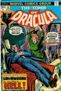 Cover Thumbnail for Tomb of Dracula (Marvel, 1972 series) #19