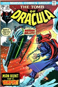 Cover Thumbnail for Tomb of Dracula (Marvel, 1972 series) #20