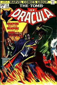 Cover Thumbnail for Tomb of Dracula (Marvel, 1972 series) #21