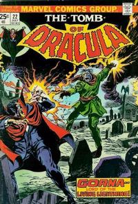 Cover Thumbnail for Tomb of Dracula (Marvel, 1972 series) #22