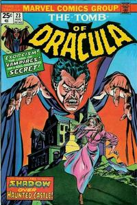 Cover Thumbnail for Tomb of Dracula (Marvel, 1972 series) #23 [Regular Edition]