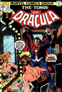 Cover Thumbnail for Tomb of Dracula (Marvel, 1972 series) #24 [Regular Edition]