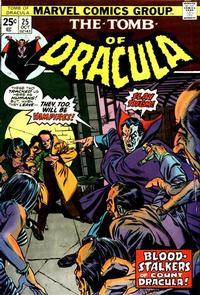 Cover Thumbnail for Tomb of Dracula (Marvel, 1972 series) #25 [Regular Edition]
