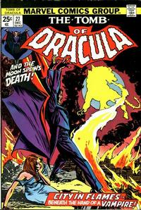 Cover Thumbnail for Tomb of Dracula (Marvel, 1972 series) #27 [Regular Edition]