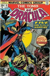 Cover Thumbnail for Tomb of Dracula (Marvel, 1972 series) #28 [Regular Edition]