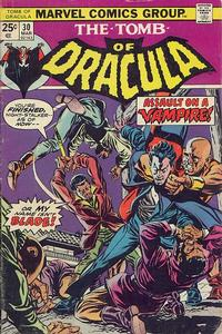 Cover Thumbnail for Tomb of Dracula (Marvel, 1972 series) #30