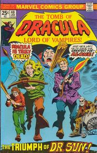 Cover Thumbnail for Tomb of Dracula (Marvel, 1972 series) #40