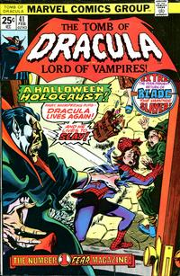 Cover Thumbnail for Tomb of Dracula (Marvel, 1972 series) #41