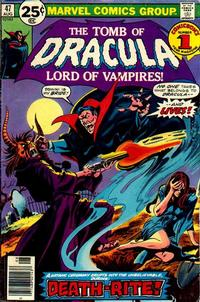 Cover Thumbnail for Tomb of Dracula (Marvel, 1972 series) #47