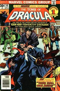 Cover Thumbnail for Tomb of Dracula (Marvel, 1972 series) #49