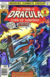 Cover Thumbnail for Tomb of Dracula (Marvel, 1972 series) #60 [35¢]