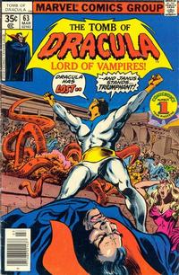 Cover Thumbnail for Tomb of Dracula (Marvel, 1972 series) #63