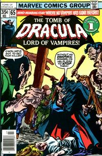Cover Thumbnail for Tomb of Dracula (Marvel, 1972 series) #65
