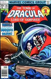 Cover Thumbnail for Tomb of Dracula (Marvel, 1972 series) #66
