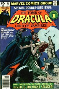 Cover Thumbnail for Tomb of Dracula (Marvel, 1972 series) #70 [Newsstand]