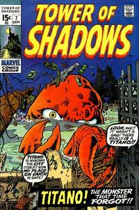 Cover Thumbnail for Tower of Shadows (Marvel, 1969 series) #7