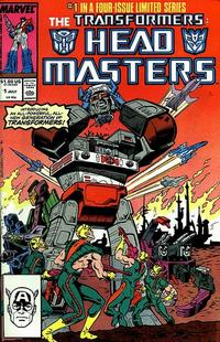 Cover Thumbnail for The Transformers: Headmasters (Marvel, 1987 series) #1 [Direct]