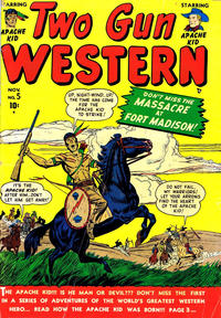 Cover Thumbnail for Two Gun Western (Marvel, 1950 series) #5